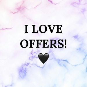 Offers Always Accepted or Countered! ❤️